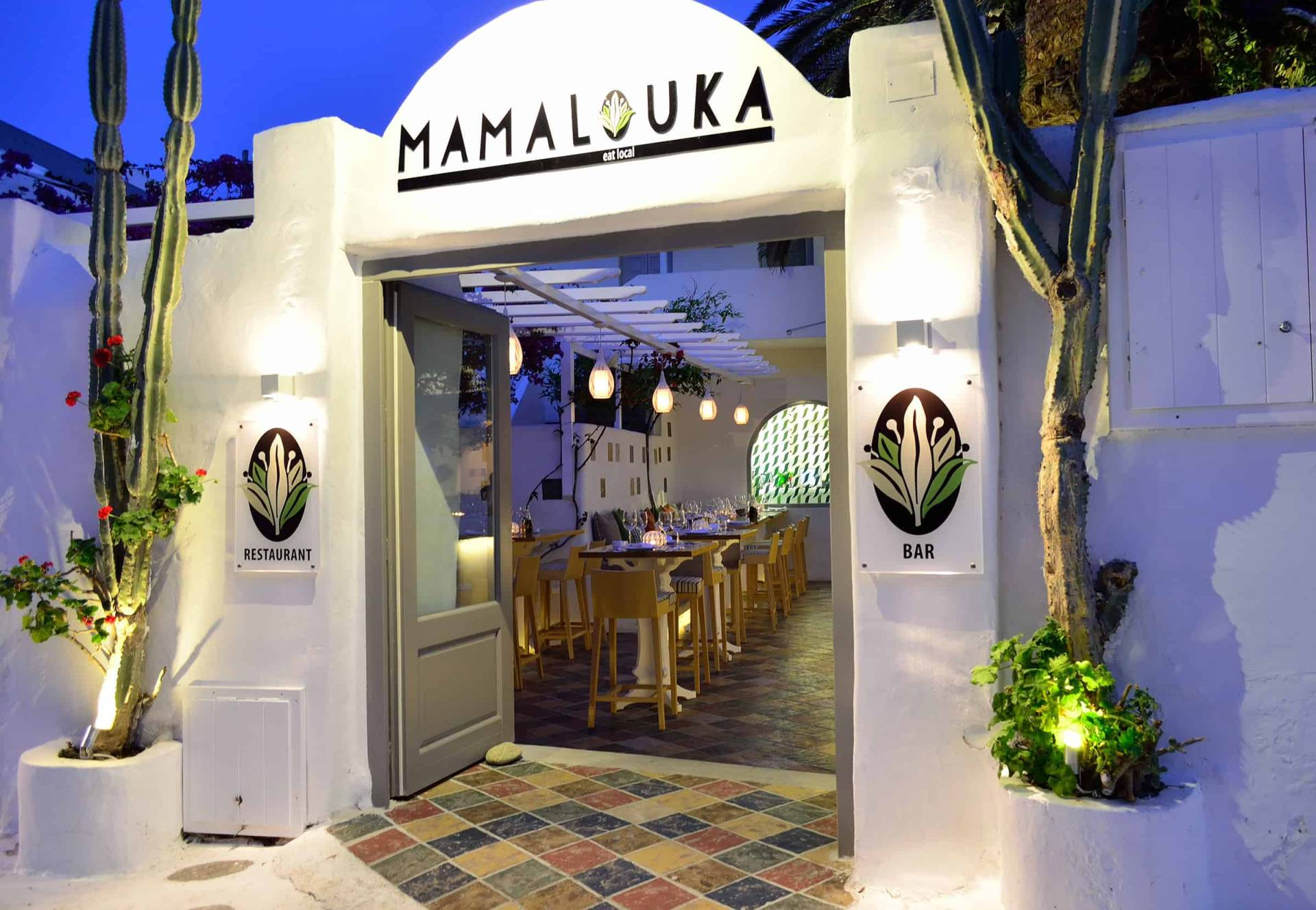 Mamalouka Restaurant @ Mykonos